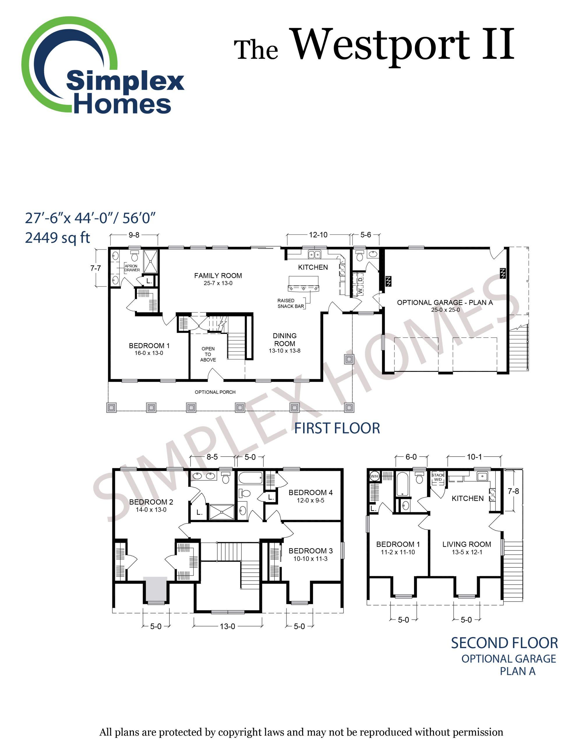 westport II floor plan