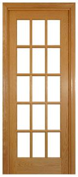 French Door WG627 15 Lite