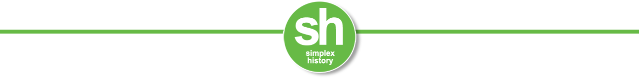 simplex history divider