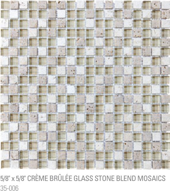 Bliss Mosaic - Creme Brule