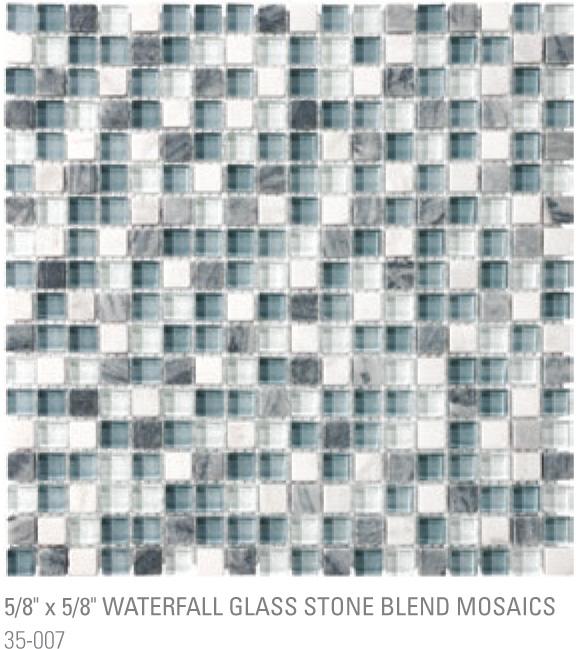 Bliss Mosaic - Waterfall