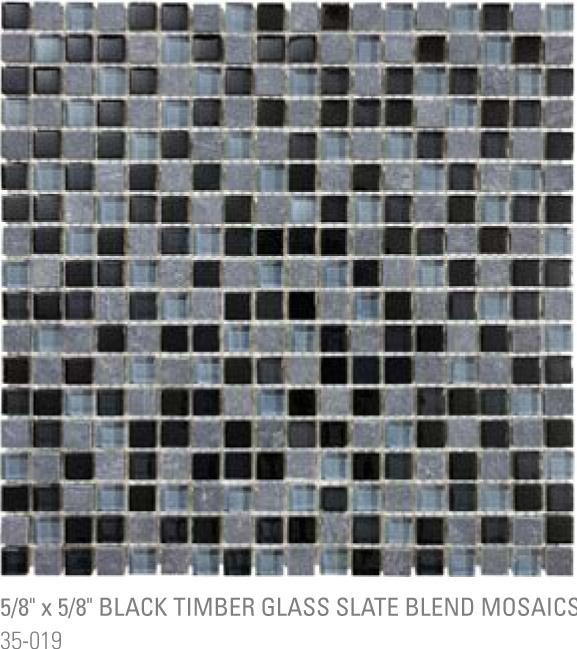 Bliss Mosaic - Black Timber