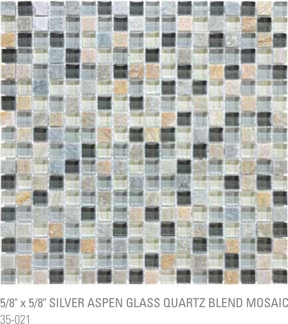 Bliss Mosaic - Silver Aspen