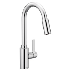 Genta – 7882 One-Handle High Arc Pulldown Kitchen Faucet